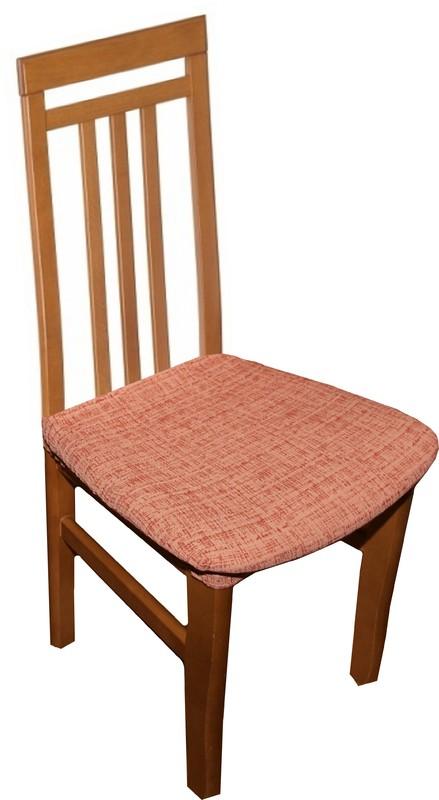 Potahy na židle Andrea - terakota 2 ks