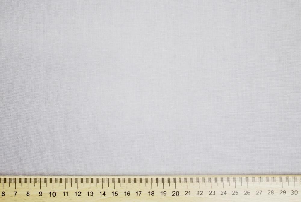 Dekorační látka bavlna bílá bez obšití 140
